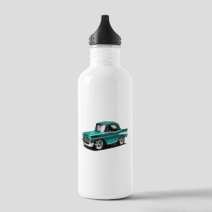 BabyAmericanMuscleCar_57BelR_Green Water Bottle