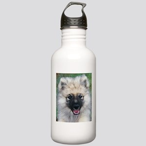 Keeshond Puppy Water Bottle