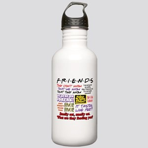 Friends Quotes Stainless Water Bottle 1.0L