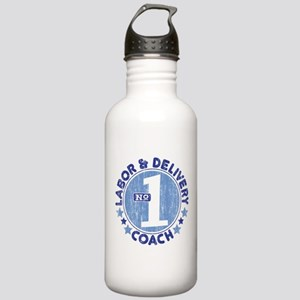 #1 LABOR & DELIVERY COACH Stainless Water Bottle 1