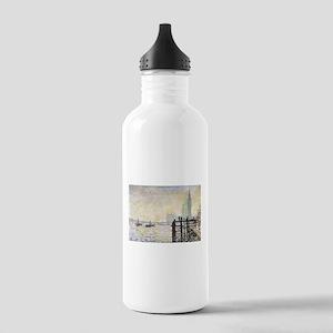 Claude Monet Westminster Bridge Stainless Water Bo