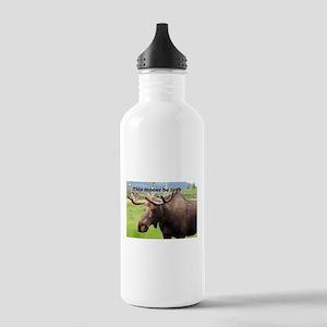 This moose be love: Alaskan moose Stainless Water