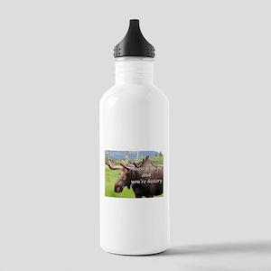 Moose with me and you're history: Alaskan moose Wa