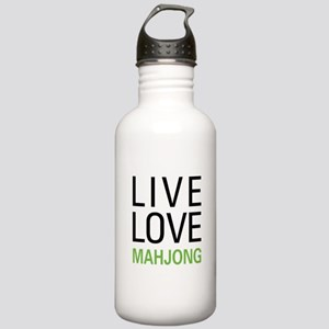 Live Love Mahjong Stainless Water Bottle 1.0L
