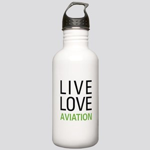 Live Love Aviation Stainless Water Bottle 1.0L