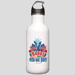 Happy 4th of July Stainless Water Bottle 1.0L