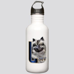 Keeshond Love Stainless Water Bottle 1.0L