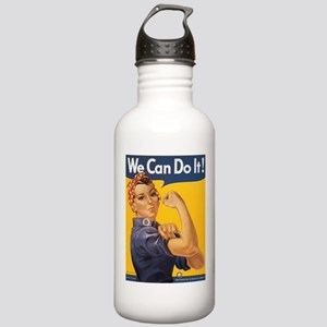 Rosie the Riveter Stainless Water Bottle 1.0L