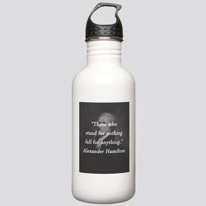 Hamilton - Stand for Nothing Water Bottle