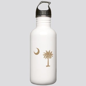 Palmetto & Cresent Moon Stainless Water Bottle 1.0