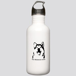 The Malamute Smile Stainless Water Bottle 1.0L