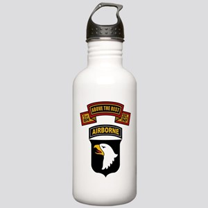 1-327th - 101st Stainless Water Bottle 1.0L