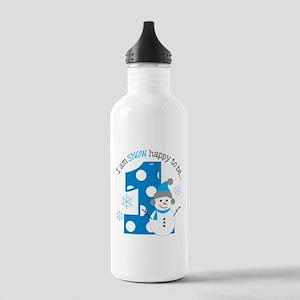 Snowman 1st Birthday Stainless Water Bottle 1.0L