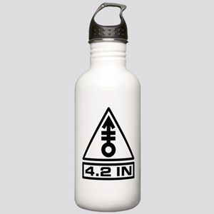 4.2in Warning (B) Stainless Water Bottle 1.0L