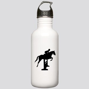 Hunter Jumper Over Fences Stainless Water Bottle 1