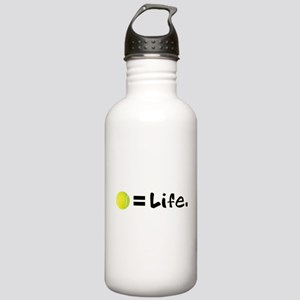 Tennis Ball = Life Stainless Water Bottle 1.0L