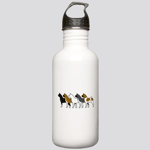 Group O' Akitas Stainless Water Bottle 1.0L