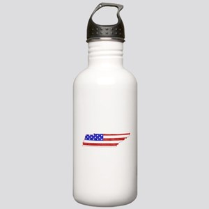 Tennessee Flag Stainless Water Bottle 1.0L