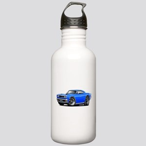 1969 Super Bee Blue Car Stainless Water Bottle 1.0