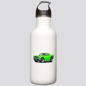 1969 Super Bee Lime Car Stainless Water Bottle 1.0