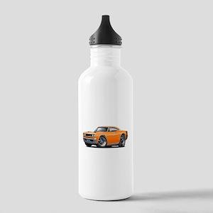 1969 Super Bee Orange Car Stainless Water Bottle 1