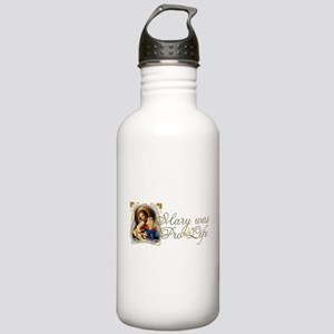 Mary was Pro-Life Stainless Water Bottle 1.0L