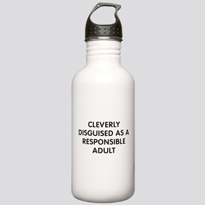 Cleverly Adult Stainless Water Bottle 1.0L