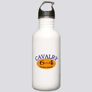 6th Squadron 4th Cavalry Stainless Water Bottle 1.