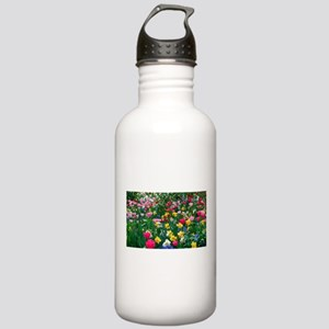 Flower Garden Water Bottle