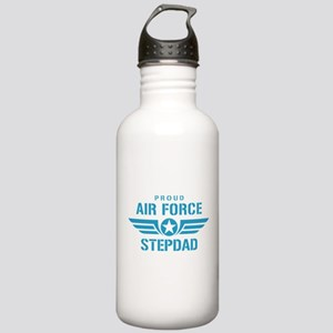 Proud Air Force Stepdad W Stainless Water Bottle 1