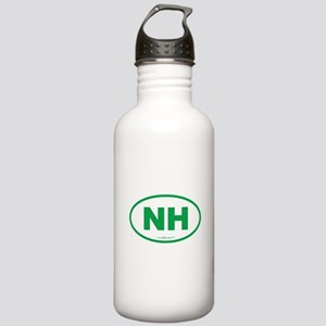 New Hampshire NH Euro Stainless Water Bottle 1.0L