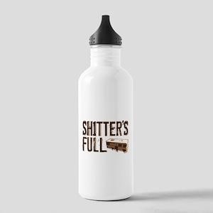 Shitter's Full Stainless Water Bottle 1.0L