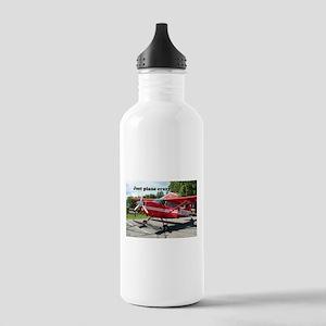 Just plane crazy: skiplane, Alaska Water Bottle