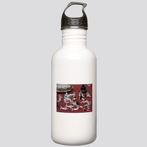 vintage 1920s flapper Stainless Water Bottle 1.0L
