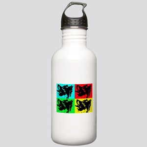 Pop Kees Stainless Water Bottle 1.0L