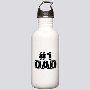 #1 Dad Stainless Water Bottle 1.0L
