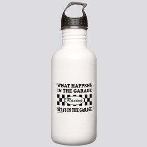 AUTO RACING Stainless Water Bottle 1.0L