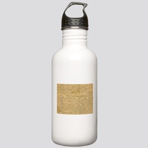 Old Manuscript Water Bottle
