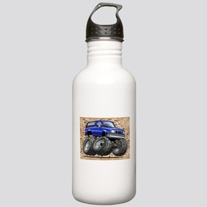 95_Blue_Bronco Stainless Water Bottle 1.0L