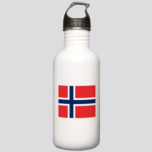 Flag of Norway Stainless Water Bottle 1.0L