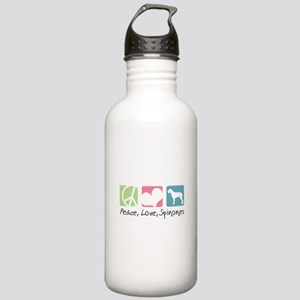 Peace, Love, Spinones Stainless Water Bottle 1.0L
