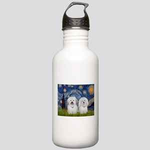 Starry / Coton Pair Stainless Water Bottle 1.0L