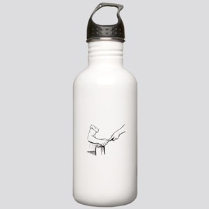 Champering against the Stainless Water Bottle 1.0L