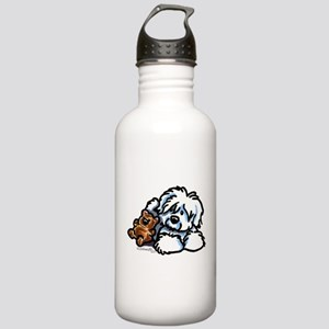 Coton Teddy Stainless Water Bottle 1.0L