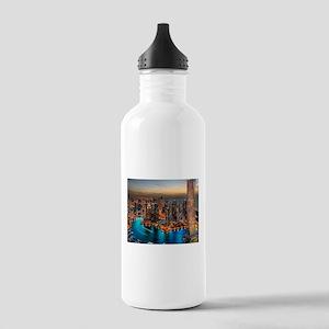 Dubai Skyline Sports Water Bottle
