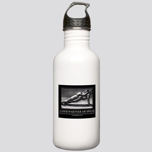 A good partner or spouse Stainless Water Bottle 1.