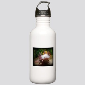 I <3 Axolotl Water Bottle