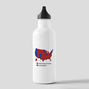 Dumbfuckistan Stainless Water Bottle 1.0L