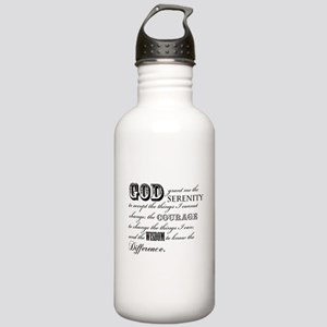 Serenity Prayer Water Bottle