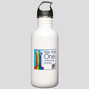 """We Are One"" Stainless Water Bottle 1.0L"